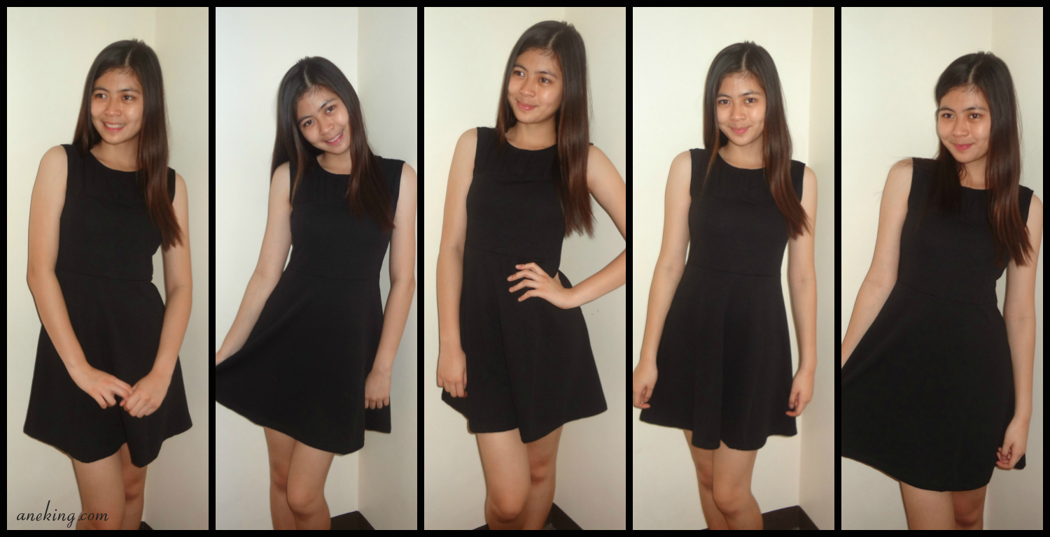 Five Ways To Wear Black Dress